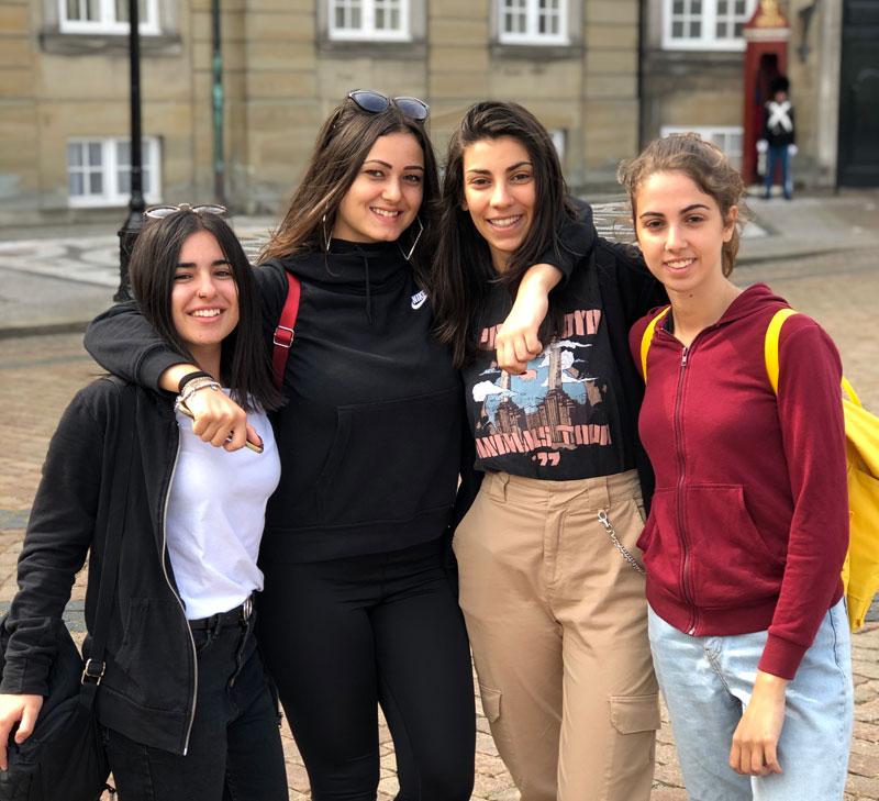 Curso escolar en Dinamarca