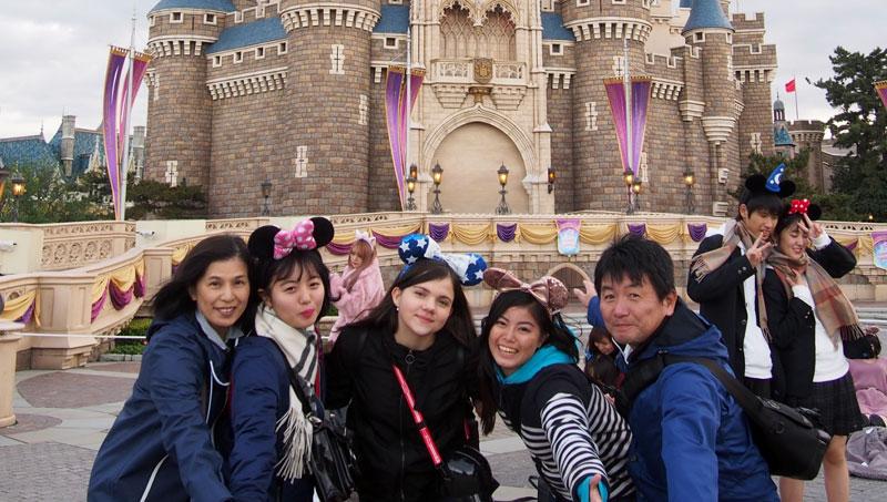 Curso escolar en familias anfitrionas en Japón